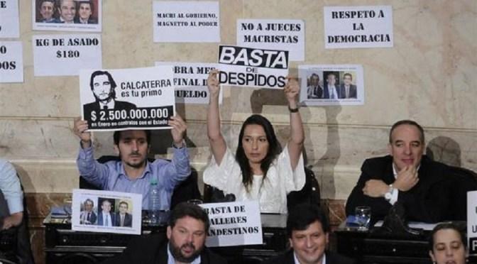 La Diputada de La Cámpora desaforada contra Macri