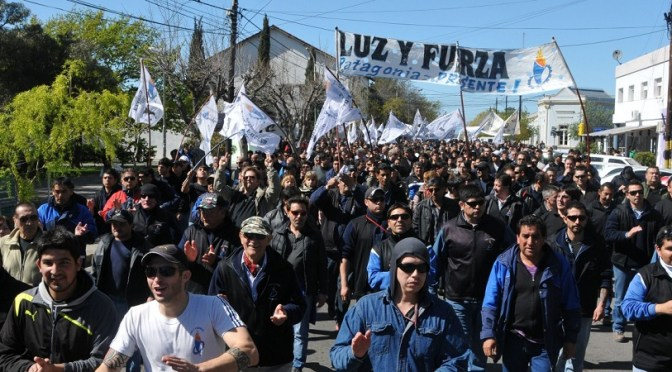 CGT Córdoba: lanzó un plan de lucha con protesta por los precios