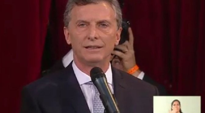 Asamblea Legislativa: las 20 frases más fuertes del discurso de Mauricio Macri
