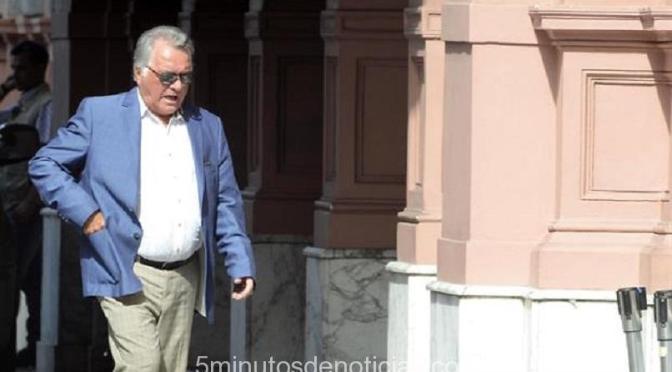 Luis Barrionuevo se bajó de la marcha de las centrales de trabajadores