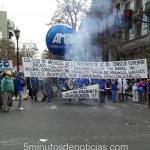 """AMRA: """"grandiosa manifestación de trabajadores en rechazo a la política de la Gobernadora Vidal"""""""
