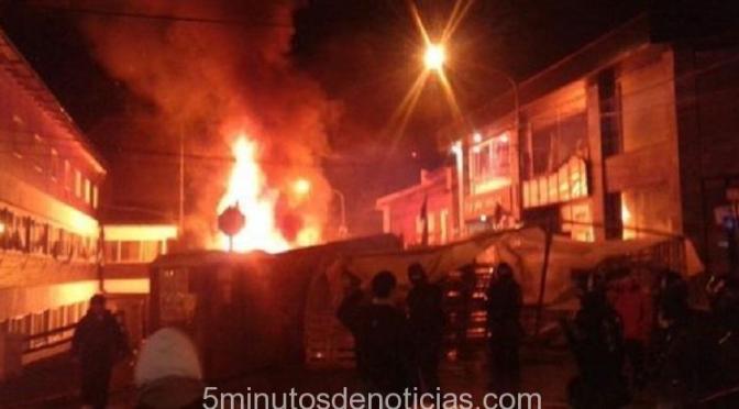 Tierra del Fuego: violenta represión a estatales