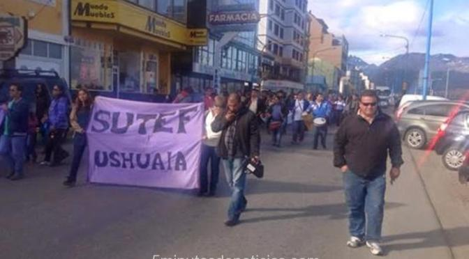 Tierra del Fuego: Hoy paro docente y 90 días de conflicto