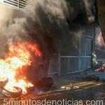 Santa Cruz: enfrentamientos en la Legislatura entre gremios estales y la policía