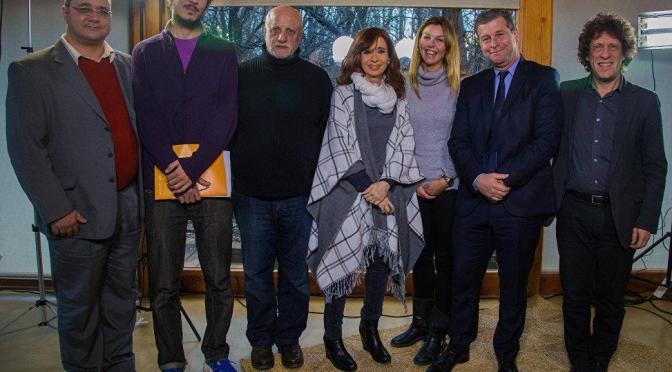 "La ex Presidente Cristina Kirchner afirmó ""ser Peronista en este País no es gratis"""