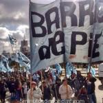 Barrios de Pie movilizó a la Gobernación bonaerense