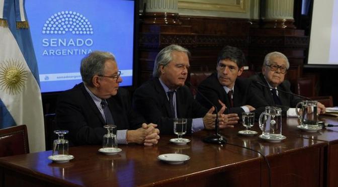 CARLOS TRABOULSI EXPUSO EN SENADORES SOBRE LA REFORMA ELECTORAL 2016
