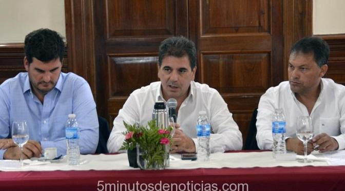 RITONDO Y FESTA FIRMARON CONVENIO PARA REFORZAR LA SEGURIDAD EN MORENO