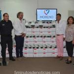 EN MORENO EL INTENDENTE WALTER FESTA REALIZA UNA FUERTE INVERSIÓN EN SEGURIDAD