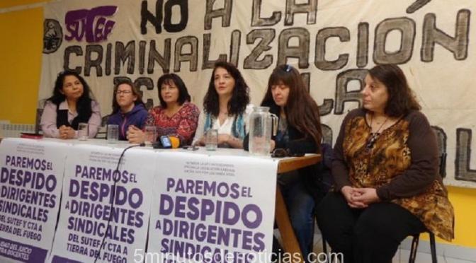 TIERRA DEL FUEGO: CAMPAÑA CONTRA LA CRIMINALIZACIÓN DE LA PROTESTA