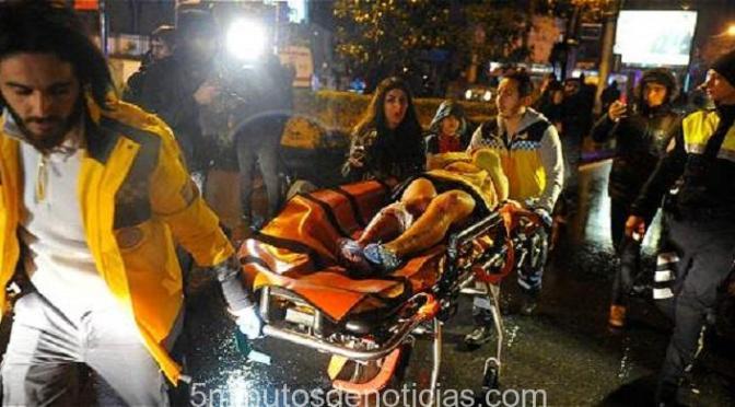 ESTAMBUL: MATANZA EN UNA DISCOTECA DEJA 39 MUERTOS