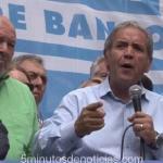 LA BANCARIA EXPRESÓ SU REPUDIO AL GOBIERNO Y EL JUEZ ARIAS GILBERT FORMULÓ UNA DURA DENUNCIA