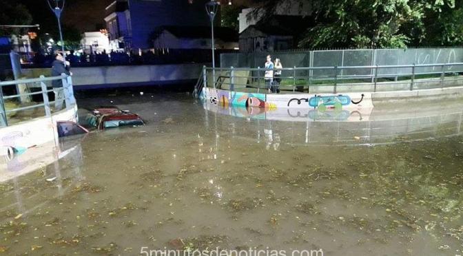 """SAN ISIDRO: """"LA OBRA RECIENTE DEL TÚNEL DE FLORENCIO VARELA PRESENTA UN ESCANDOLOSO FALLO"""""""