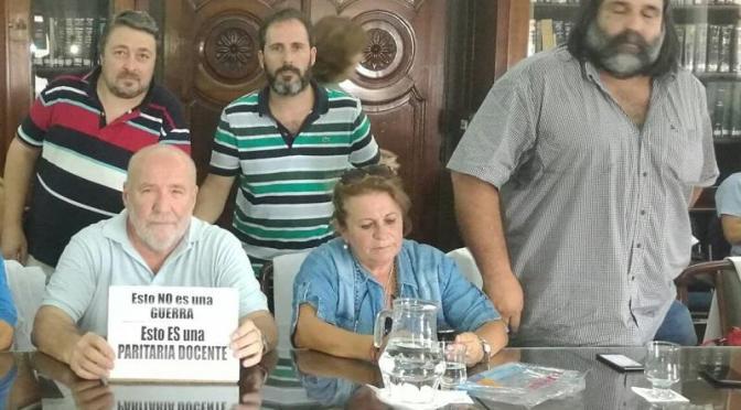 FRACASÓ LA PARITARIA DOCENTE BONAERENSE Y PORTEÑA