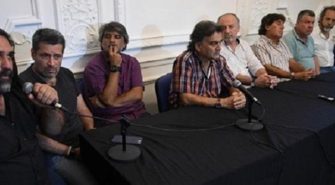 GREMIOS DE LA CGT SE SUMAN A LA MARCHA DE LAS CTA A PLAZA DE MAYO