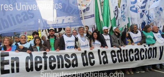 LA CONADU HISTÓRICA CONVOCA AL PARO NACIONAL CONTRA LA REPRESIÓN A LOS DOCENTES