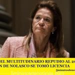 LUEGO DEL MULTITUDINARIO REPUDIO AL 2×1 ELENA HIGHTON DE NOLASCO SE TOMÓ LICENCIA