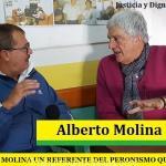 ALBERTO MOLINA UN REFERENTE DEL PERONISMO QUE VIENE