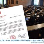 CARTA DE LA 113° ASAMBLEA PLENARIA AL PAPA FRANCISCO
