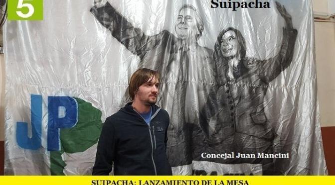 """SUIPACHA: LANZAMIENTO DE LA MESA """"ENCUENTRO POR LA UNIDAD – CRISTINA CONDUCCIÓN"""""""