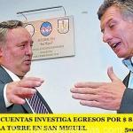TRIBUNAL DE CUENTAS INVESTIGA EGRESOS POR $ 8.095.262,59 A JOAQUÍN DE LA TORRE EN SAN MIGUEL