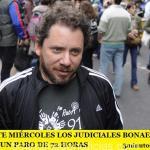 DESDE ESTE MIÉRCOLES LOS JUDICIALES BONAERENSES REALIZAN UN PARO DE 72 HORAS