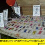 MERLO: IMPORTANTE OPERATIVO ANTIDROGA EN MARIANO ACOSTA