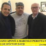 PABLO MOYANO APOYÓ A MARCELO PERETTA FRENTE AL ATROPELLO DE HÉCTOR DAER