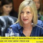 DESDE EL CONSEJO DE LA MAGISTRATURA CRITICAN LA SUSPENSIÓN DE EDUARDO FREILER