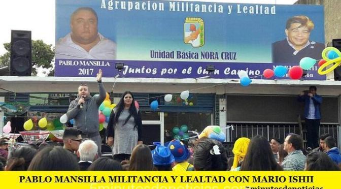 PABLO MANSILLA, MILITANCIA Y LEALTAD CON MARIO ISHII Y LA GENTE