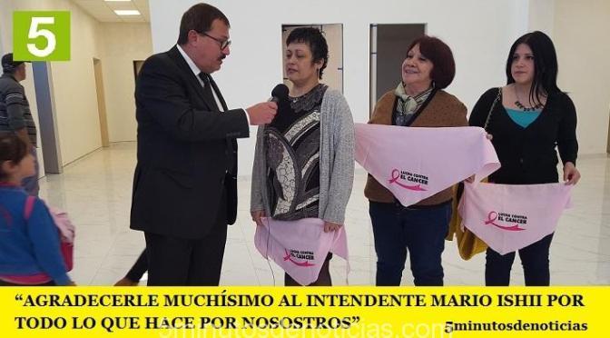 """""""AGRADECERLE MUCHÍSIMO AL INTENDENTE MARIO ISHII POR TODO LO QUE HACE POR NOSOSTROS"""""""
