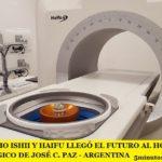 CON MARIO ISHII Y HAIFU LLEGÓ EL FUTURO AL HOSPITAL ONCOLÓGICO DE JOSÉ C. PAZ – ARGENTINA