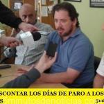 ORDENAN DESCONTAR LOS DÍAS DE PARO A LOS JUDICIALES BONAERENSES
