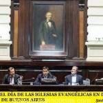 CELEBRARON EL DÍA DE LAS IGLESIAS EVANGÉLICAS EN DIPUTADOS DE LA PROVINCIA DE BUENOS AIRES