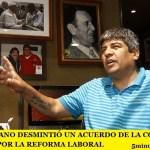 PABLO MOYANO DESMINTIÓ UN ACUERDO DE LA CGT CON EL GOBIERNO POR LA REFORMA LABORAL