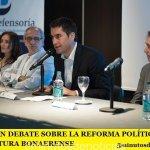 IMPULSAN DEBATE SOBRE LA REFORMA POLÍTICA EN LA LEGISLATURA BONAERENSE