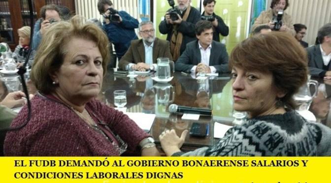 LOS DOCENTES BONAERENSES DEMANDARON AL GOBIERNO PROVINCIAL SALARIOS Y CONDICIONES LABORALES DIGNAS