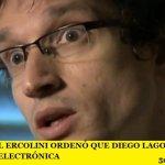 EL JUEZ FEDERAL ERCOLINI ORDENÓ QUE DIEGO LAGOMARSINO LLEVE UNA TOBILLERA ELECTRÓNICA