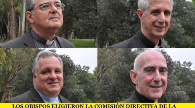 LOS OBISPOS ELIGIERON LA NUEVA COMISIÓN DIRECTIVA DE LA  (CEA)
