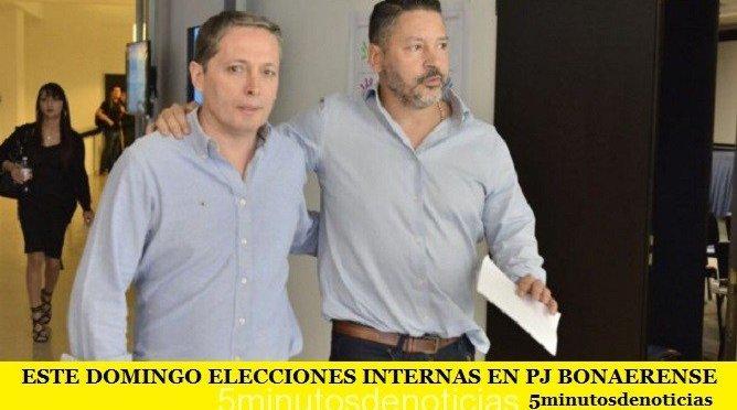 ESTE DOMINGO ELECCIONES INTERNAS EN PJ BONAERENSE