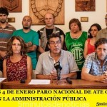 ESTE JUEVES PARO NACIONAL DE ATE CONTRA LOS DESPIDOS EN LA ADMINISTRACIÓN PÚBLICA
