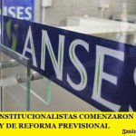 ABOGADOS CONSTITUCIONALISTAS COMENZARON LOS AMPAROS CONTRA LA LEY DE REFORMA PREVISIONAL