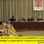 """LA IGLESIA REALIZÓ UN NUEVO LLAMAMIENTO AL DIÁLOGO Y ADVIERTE SOBRE LA CRECIENTE """"VIOLENCIA POLÍTICA"""""""