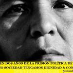 SE CUMPLEN DOS AÑOS DE LA PRISIÓN POLÍTICA DE MILAGRO SALA. COMO SOCIEDAD TENGAMOS DIGNIDAD & CONCIENCIA