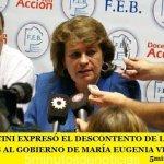 MIRTA PETROCINI EXPRESÓ EL DESCONTENTO DE LOS DOCENTES BONAERENSES AL GOBIERNO DE MARÍA EUGENIA VIDAL