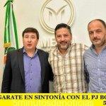 ARROYO Y GARATE EN SINTONÍA CON EL PJ BONAERENSE