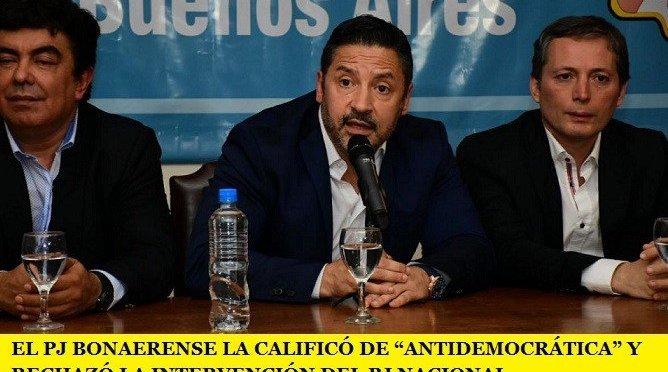 """EL PJ BONAERENSE LA CALIFICÓ DE """"ANTIDEMOCRÁTICA"""" Y RECHAZÓ LA INTERVENCIÓN DEL PJ NACIONAL"""