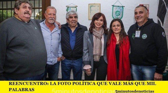REENCUENTRO: LA FOTO POLÍTICA QUE VALE MÁS QUE MIL PALABRAS