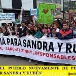 MORENO | EL PUEBLO NUEVAMENTE DE PIE PIDIENDO JUSTICIA POR SANDRA Y RUBÉN