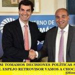 """URTUBEY: """"SI TOMAMOS DECISIONES POLÍTICAS SOLAMENTE MIRANDO EL ESPEJO RETROVISOR VAMOS A CHOCAR"""""""